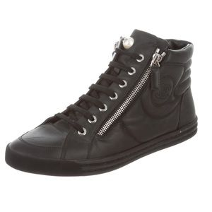 Chanel HighTop Sneakers Size 39
